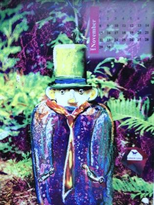Contemplatio Corpreae Kalender 2009
